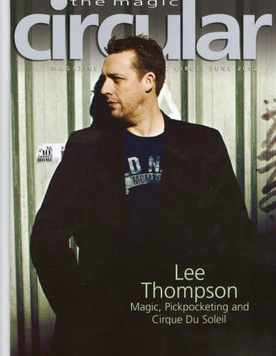 Pickpocket Lee Thompson The Magic Circle magazine